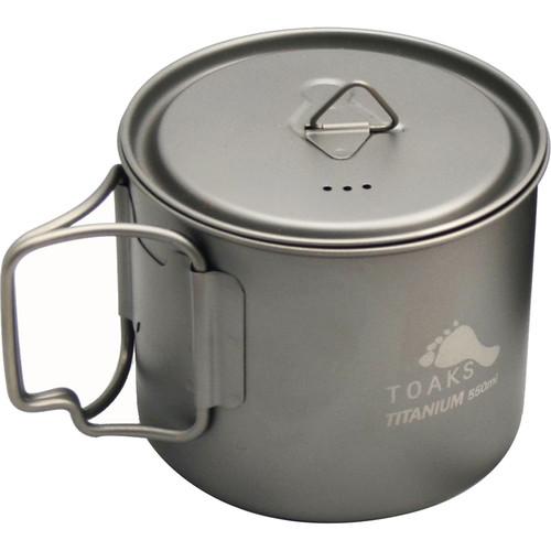 Toaks Outdoor Titanium Pot (550mL)
