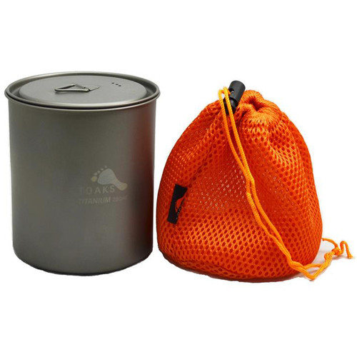 Toaks Outdoor Titanium Potwithout handles (750mL)