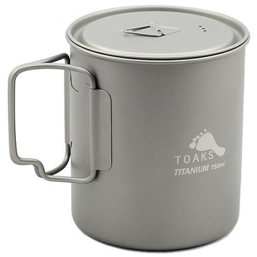 Toaks Outdoor Titanium Pot (750mL)