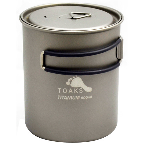 Toaks Outdoor Titanium Pot (800mL)