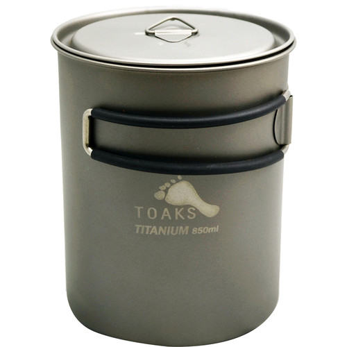 Toaks Outdoor Titanium Pot (850mL)