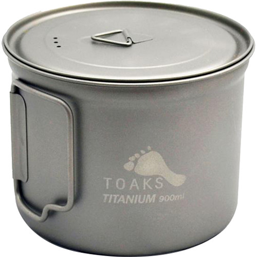 Toaks Outdoor Titanium Pot (900mL)