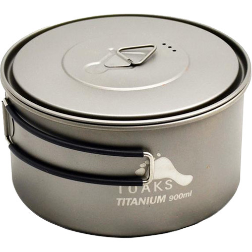 Toaks Outdoor Titanium Wide-Mouth Pot (900mL)