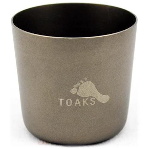 Toaks Outdoor Titanium 1oz Shot Glass (Single)
