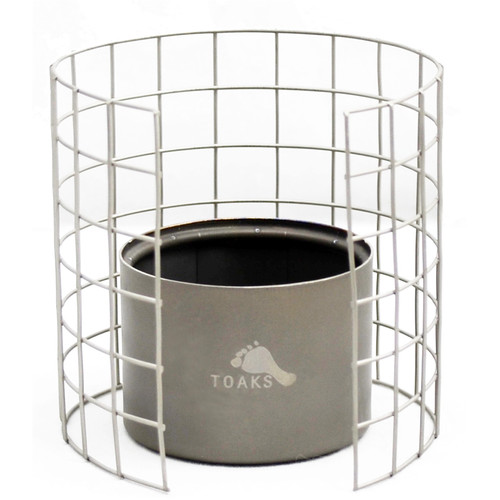 Toaks Outdoor Titanium Siphon Alcohol Stove with Wire Pot Stand