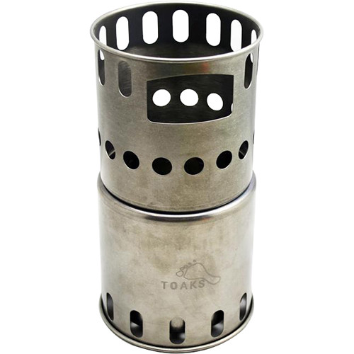 Toaks Outdoor Titanium Backpacking Wood Burning Stove