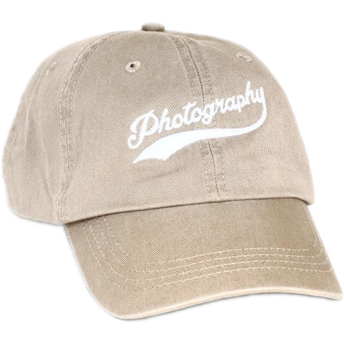 TogTees Photography Hat (Off-White, One Size)