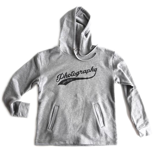 TogTees Photography Since 1827 Hoodie (L, 18% Gray)
