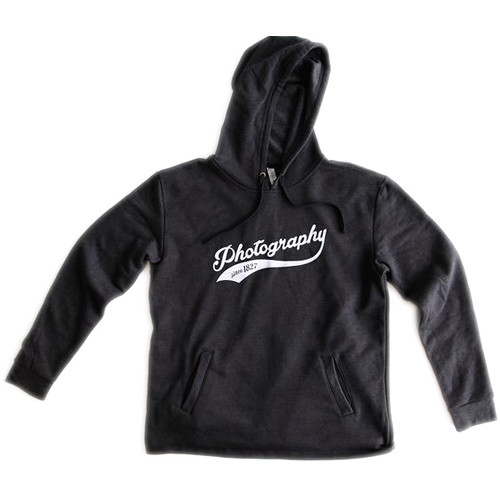 TogTees Photography Since 1827 Hoodie (S, Monochrome)