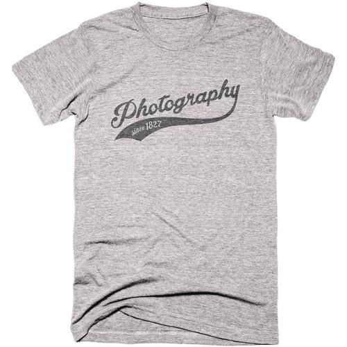 TogTees Men's Photography Since 1827 Tee Shirt (XXL, 18% Gray)