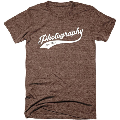 TogTees Men's Photography Since 1827 Tee Shirt (L, Sepia)