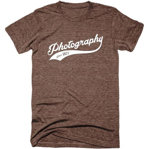 TogTees Men's Photography Since 1827 Tee Shirt (S, Sepia)