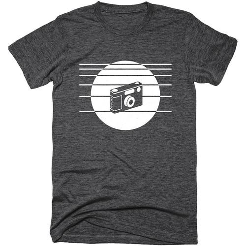 TogTees 1980s T-Shirt (Monochrome, Large)