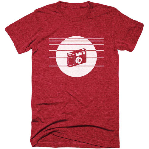 TogTees 1980s T-Shirt (Infared, Large)