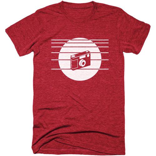 TogTees 1980s T-Shirt (Infared, Small)