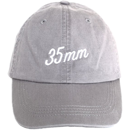 TogTees 35mm Dad Hat (18% Gray, One Size)