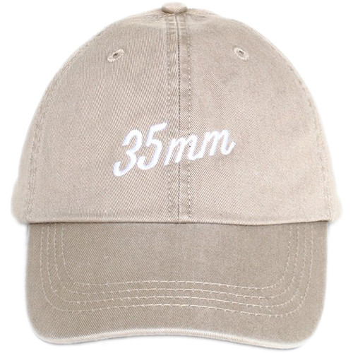TogTees 35mm Dad Hat (Off-White, One Size)