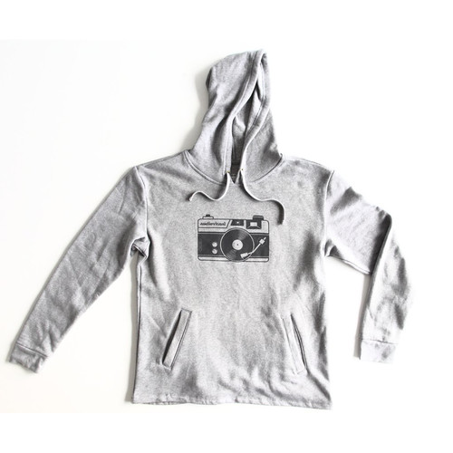 TogTees Audiovisual Hoodie (18% Gray, Medium)