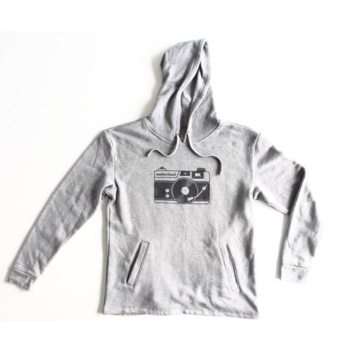 TogTees Audiovisual Hoodie (18% Gray, XL)