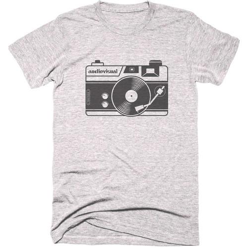 TogTees Audiovisual T-Shirt (18% Gray, Large)