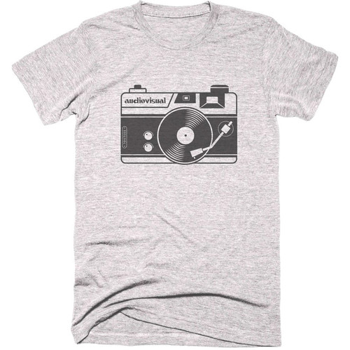 TogTees Audiovisual T-Shirt (18% Gray, Small)