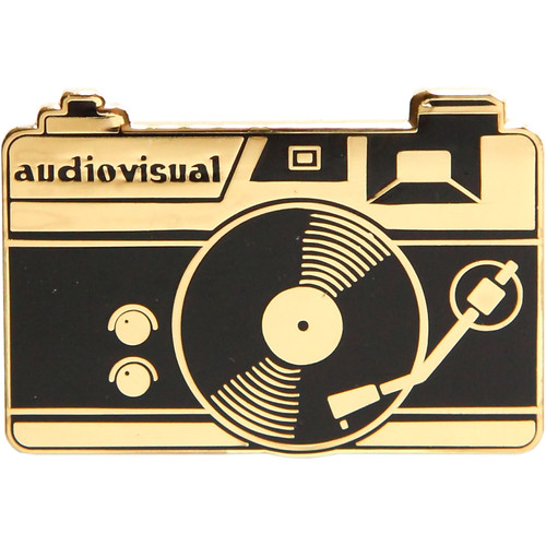 TogTees Audiovisual Enamel Pin (Gold Hour)