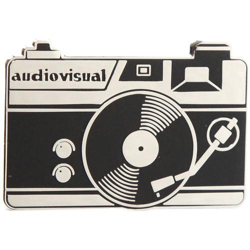 TogTees Audiovisual Enamel Pin (Silver Halide)