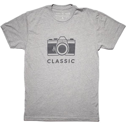 TogTees Men's Classic Tee Shirt (XXL, 18% Gray)