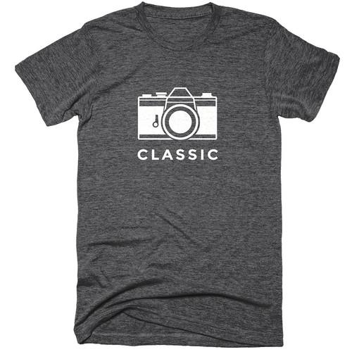 TogTees Men's Classic Tee Shirt (S, Monochrome)