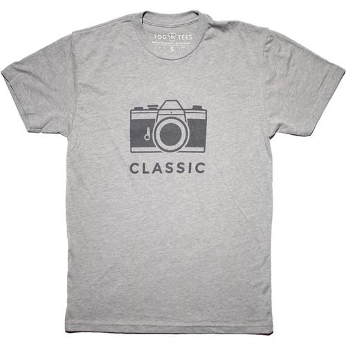 TogTees Classic T-Shirt (Medium, 18% Gray)