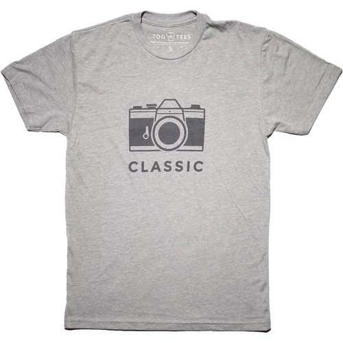 TogTees Classic T-Shirt (Small, 18% Gray)