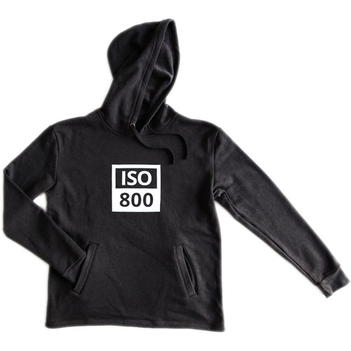 TogTees ISO 800 Hoodie (XL, Monochrome)