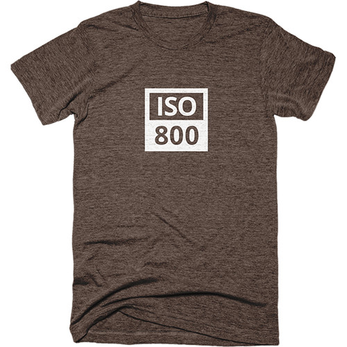 TogTees Men's ISO 800 Tee Shirt (S, Sepia)