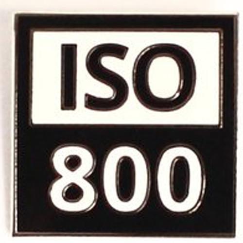 "TogTees ISO 800 Enamel Pin (1 x 1"", Silver Halide Finish)"
