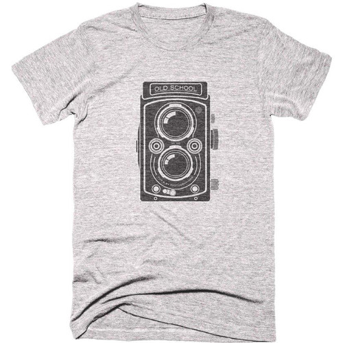 TogTees Men's Old School Tee Shirt (XL, 18% Gray)