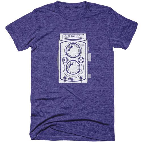 TogTees Old School T-Shirt (Night Sky, Medium)