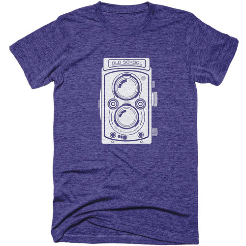 TogTees Old School T-Shirt (Night Sky, Small)