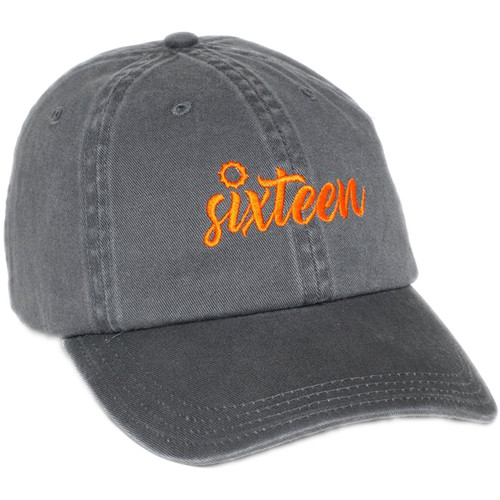 TogTees Sunny 16 Hat (Grayscale, One Size)