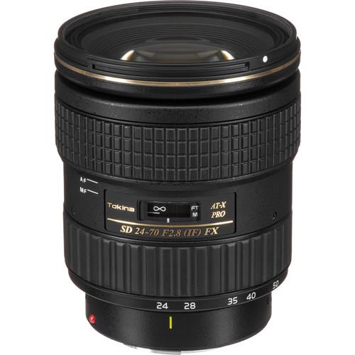Tokina AT-X 24-70mm f/2.8 PRO FX Lens