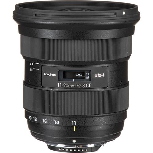 Tokina atx-i 11-20mm f/2.8 CF Lens for Nikon F