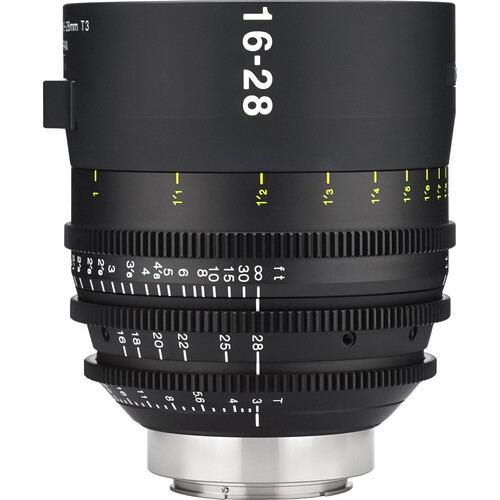Tokina Cinema Vista 16-28mm II T3 Wide-Angle Zoom Lens (EF Mount, Focus Scale in Feet)