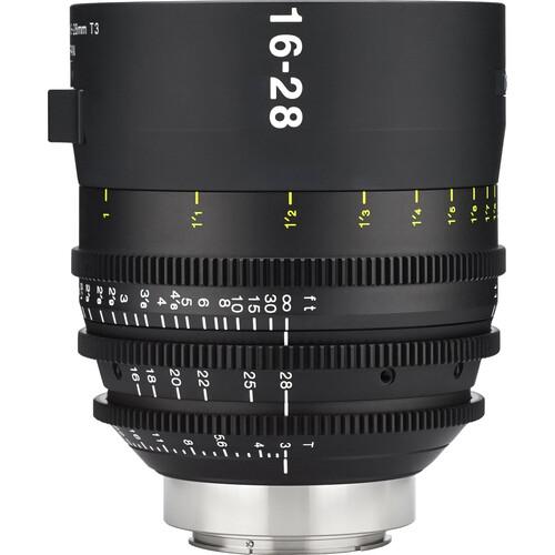 Tokina Cinema Vista 16-28mm II T3 Wide-Angle Zoom Lens (EF Mount, Focus Scale in Feet)