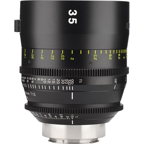 Tokina 35mm T1.5 Cinema Vista Prime Lens (EF Mount, Focus Scale in Feet)