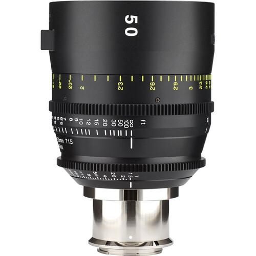 Tokina 50mm T1.5 Cinema Vista Prime Lens (E-Mount, Focus Scale in Feet)