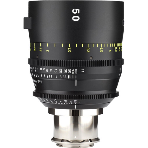 Tokina 50mm T1.5 Cinema Vista Prime Lens (E Mount, Focus Scale in Feet)
