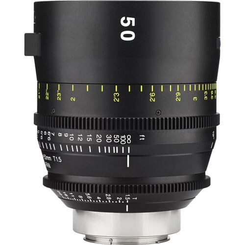 Tokina 50mm T1.5 Cinema Vista Prime Lens (EF Mount, Focus Scale in Feet)