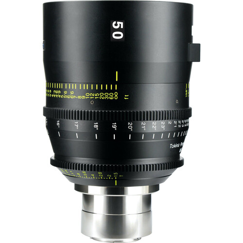 Tokina 50mm T1.5 Cinema Vista Prime Lens (MFT Mount, Focus Scale in Feet)
