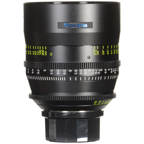 Tokina 85mm T1.5 Cinema Vista Prime Lens (PL Mount, Focus Scale in Feet)