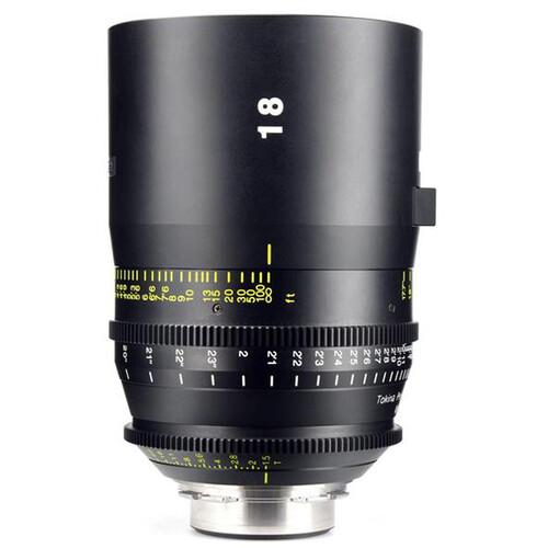Tokina 18mm T1.5 Vista Cinema Prime Lens (PL Mount, Feet)