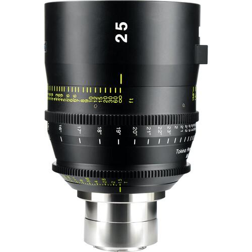 Tokina 25mm T1.5 Cinema Vista Prime Lens (Sony E-Mount, Focus Scale in Feet)